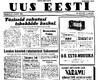 Uus Eesti 19.11.1939