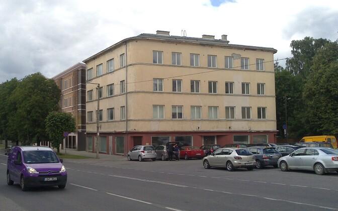Здание по адресу Пярнуское шоссе, 328 реконструируют.