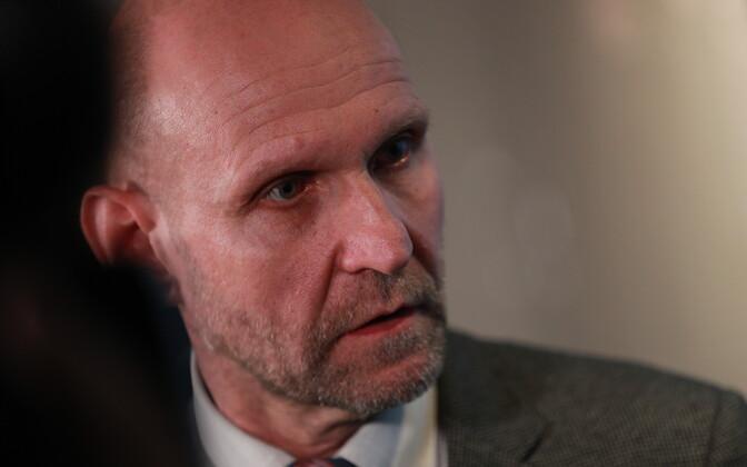 Председатель партии Isamaa Хелир-Валдор Сеэдер.