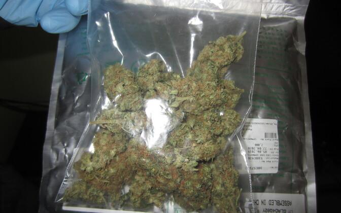Politsei pidas kinni nooretele internetis narkootikume müünud grupi.