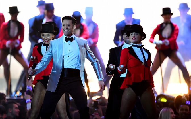 Hugh Jackman tänavuse aasta Brit Awardsil