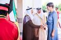 President Kersti Kaljulaid ja Kuveidi emiir šeik Sabah Al-Ahmad Al-Jabar Al-Saba