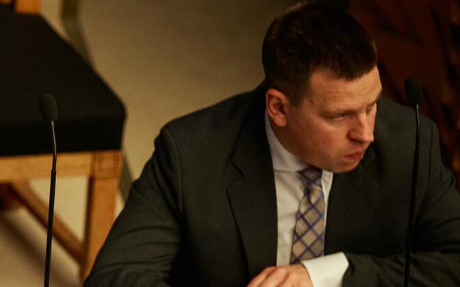 Jüri Ratas riigikogu infotunnis
