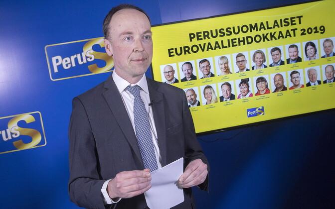 Põlissoomlaste juht Jussi Halla-Aho