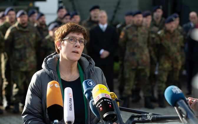 Saksa kaitseminister Annegret Kramp-Karrenbauer.