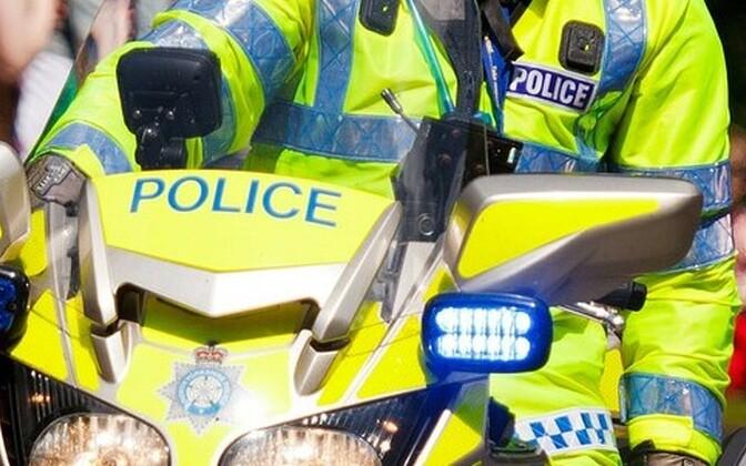 Британская полиция. Иллюстративная фотография.
