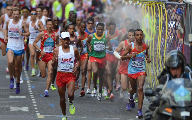Meeste maraton Londoni olümpiamängudel