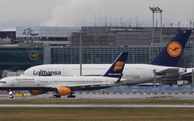 Аэропорт Франкфурта.