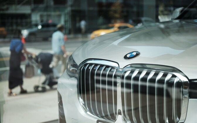 BMW auto müügisalongis Manhattanil.
