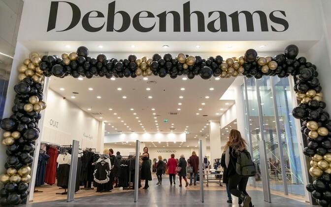 Открытия Debenhams в торговом центре Т1 ждали почти год.