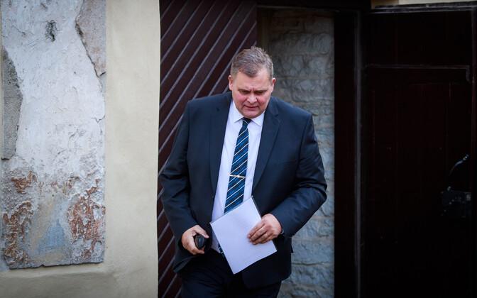 Justice minister Raivo Aeg (Isamaa).