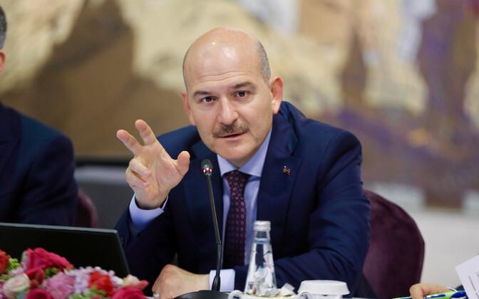 Türgi siseminister Süleyman Soylu
