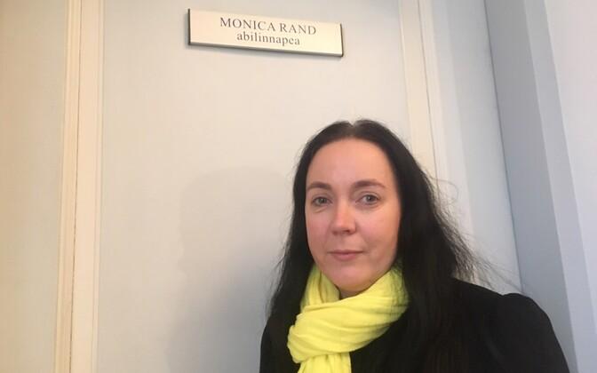Woman in Tartu