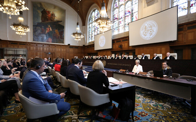 Суд ООН в Гааге.