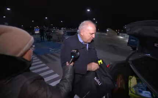 Mart Järvik arrives back in Tallinn Friday evening.