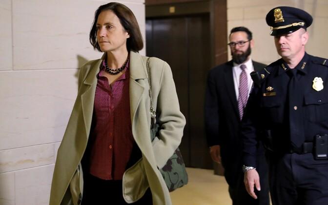 Fiona Hill USA kongressi ruumes.