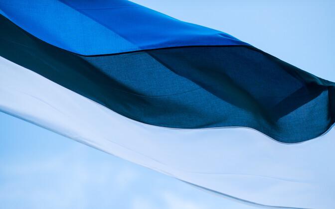 Флаг Эстонии.
