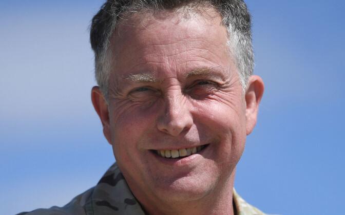 Briti relvajõudude juhataja Nick Carter.