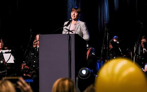 President Kersti Kaljulaid Rakveres