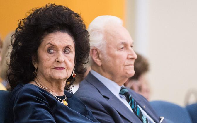 Ingrid ja Arnold Rüütel.