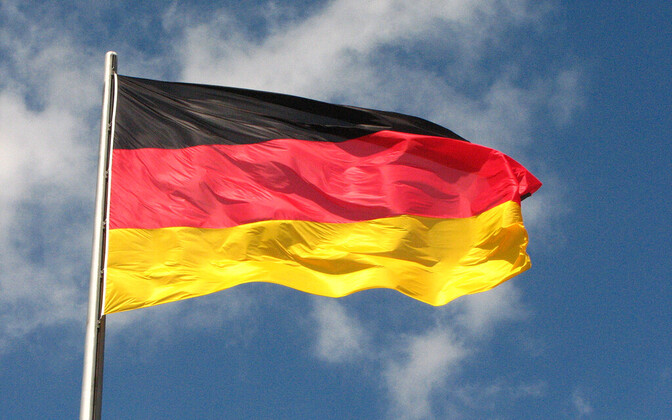 Флаг Германии.