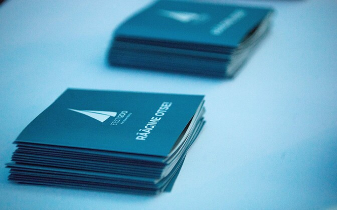 Estonia 200 pamphlets.
