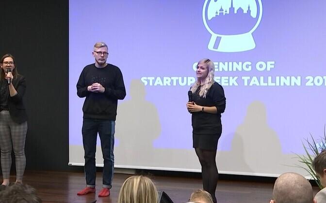 Startup Week Tallinn festival 2019.