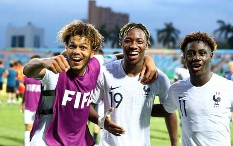 Prantsusmaa U-17 jalgpallikoondis