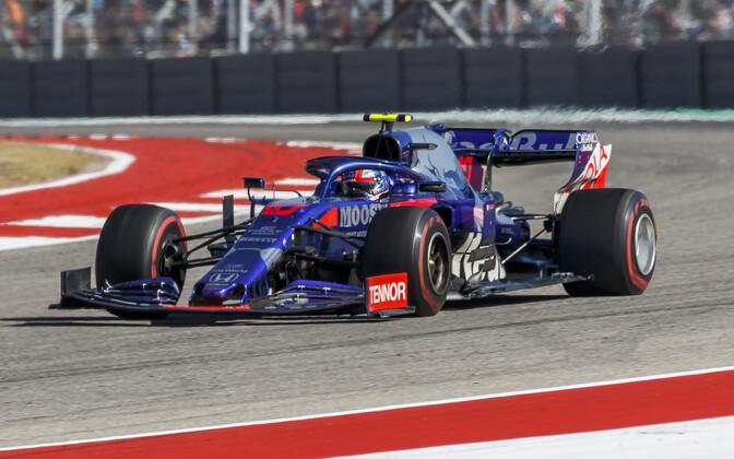 Toro Rosso sõitja Pierre Gasly USA GP-l