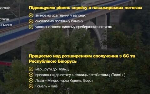 Планы Украинской железной дороги на 2020 год.