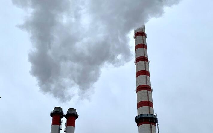Концерн Eesti Energia в холодную погоду запустил тепловые электростанции. .