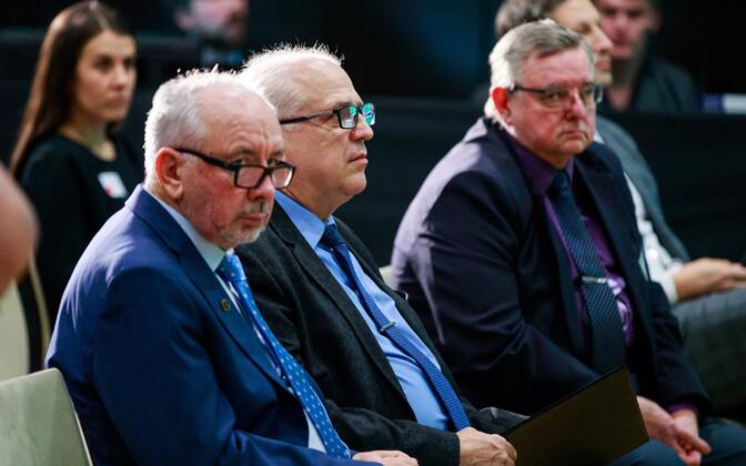Maido Pajo, Mart Järvik ja Mart Ummelas.