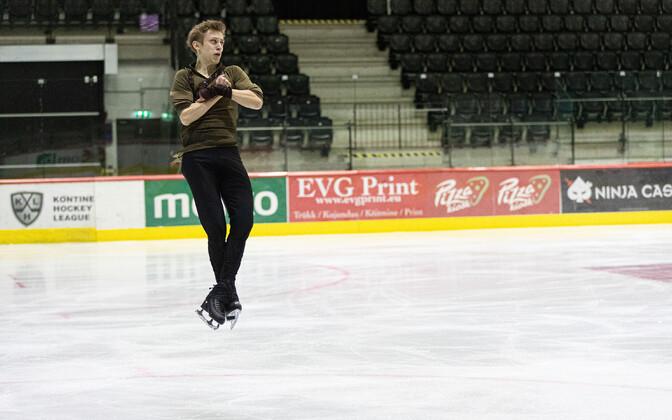 Iluuisuvõistlus Tallinn Trophy. Mihhail Selevko