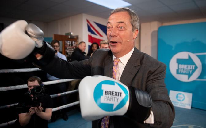 Brexiti partei juht Nigel Farage.