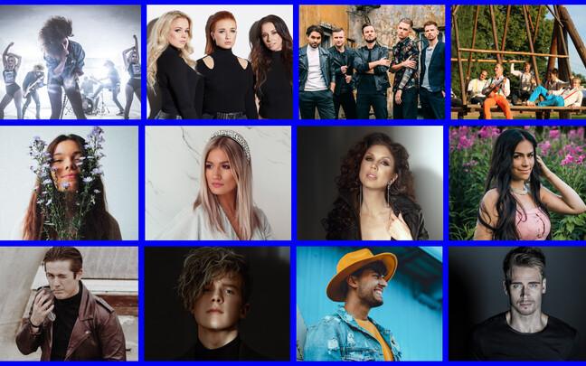 Eesti Laul 2020 esimesed poolfinalistid