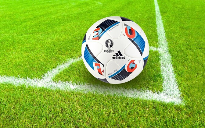 Футбольный мяч. Фото иллюстративное.