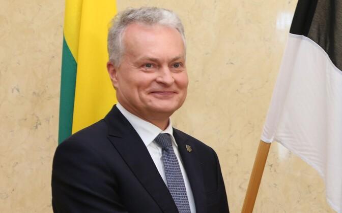 Leedu president Gitanas Nausėda.