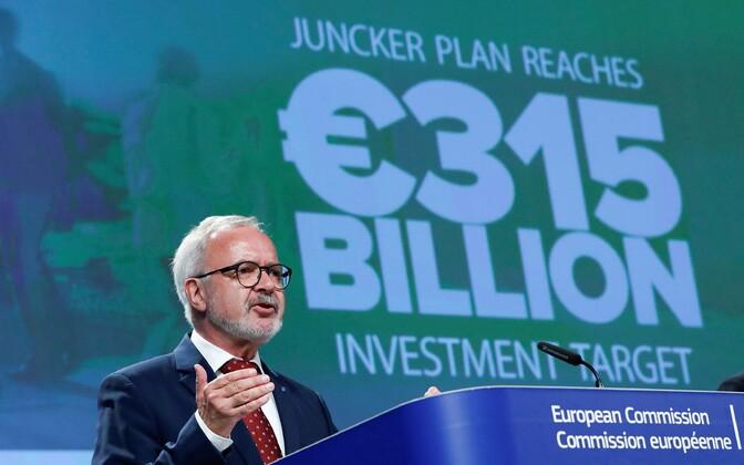 EIB president Werner Hoyer.