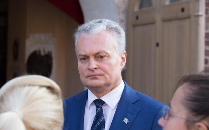 Leedu president Gitanas Nauseda.