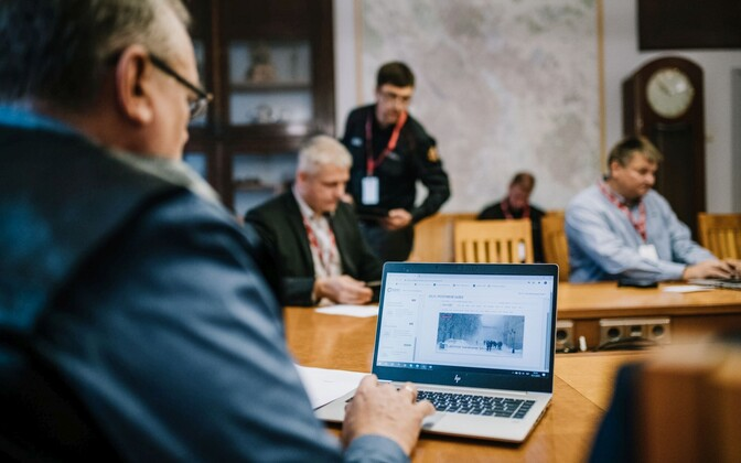 Tartu crisis exercise.