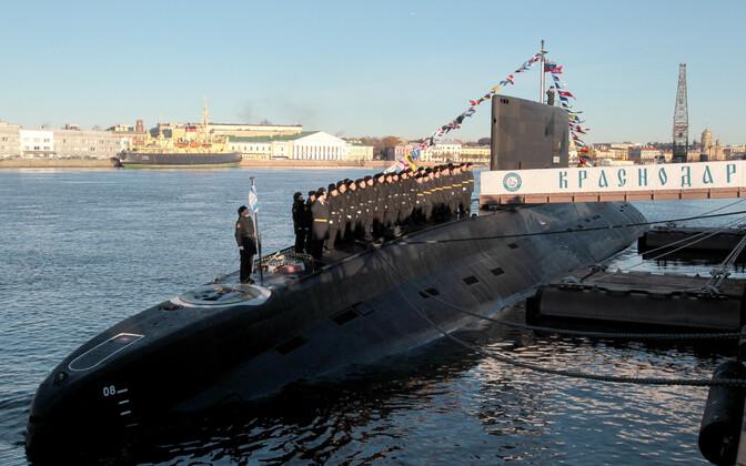 Projekt 636.3 klassi allveelaev Krasnodar, mis kuulub praegu Musta mere laevastiku koosseisu.