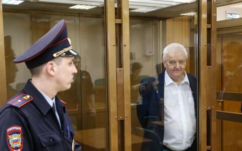 Гражданин Норвегии Фруде Берг в московском суде.