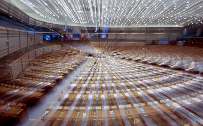 Euroopa Parlamendi plenaaristungite saal.