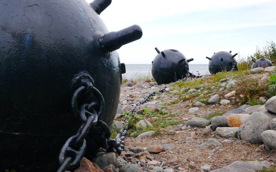 Глобус Эстонии.