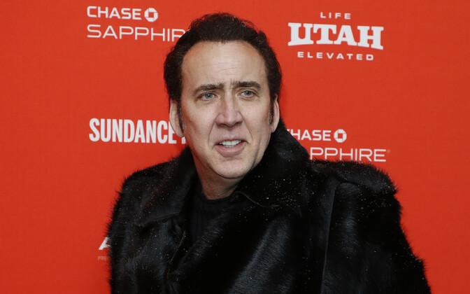 Nicolas Cage 2018. aasta Sundance'i filmifestivalil.