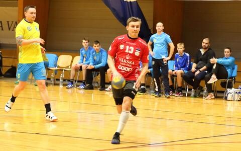 Viljandi HC oli karikavõistluste veerandfinaalis Põlva Servitist mitme sammu jagu maas, palliga Henri Sillaste