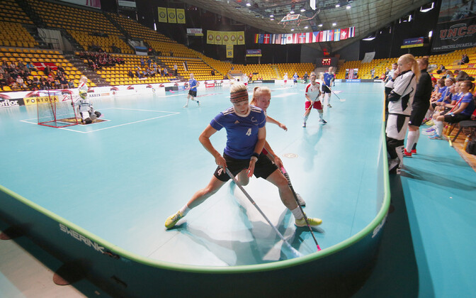 Матч Эстония - Дания на прошлом чемпионате мира в 2017 году.