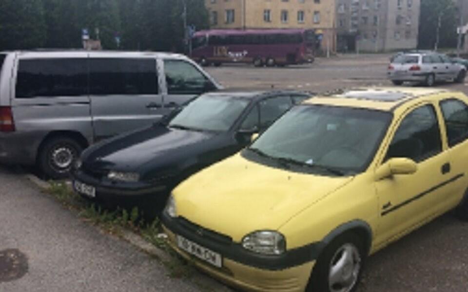 Брошенные автомобили.