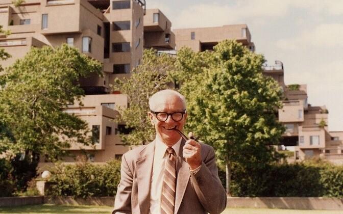 Ehitusinsener August Komendant (1902–1992).