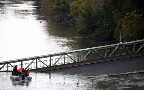 Рухнувший мост соединял населенные пункты Мирпуа-сюр-Тарн и Бесьер.